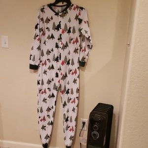 Other - Unbranded One Piece PJ's No Peeking Lightweight MD